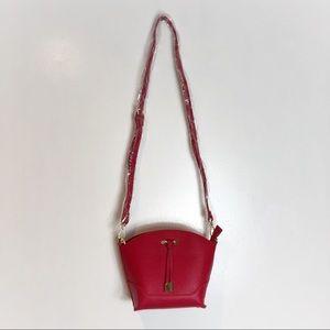 Charming Charlie Bags - Charming Charlie Ruby Red Pebble Crossbody Bag